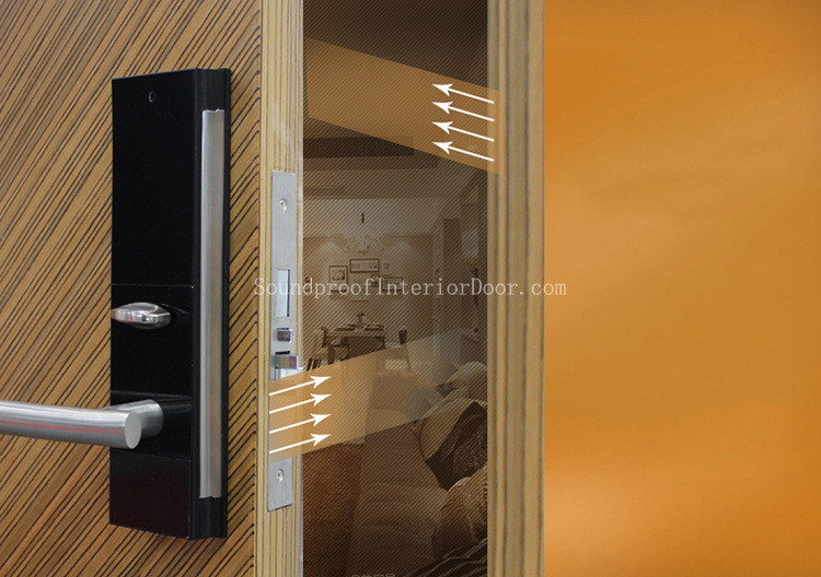 Acoustic Sound Proof Doors Thick Sound Proof Door Material Heavy Soundproof Door