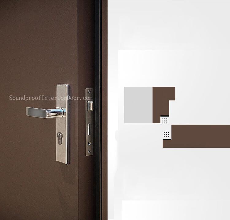 sound proof fire door