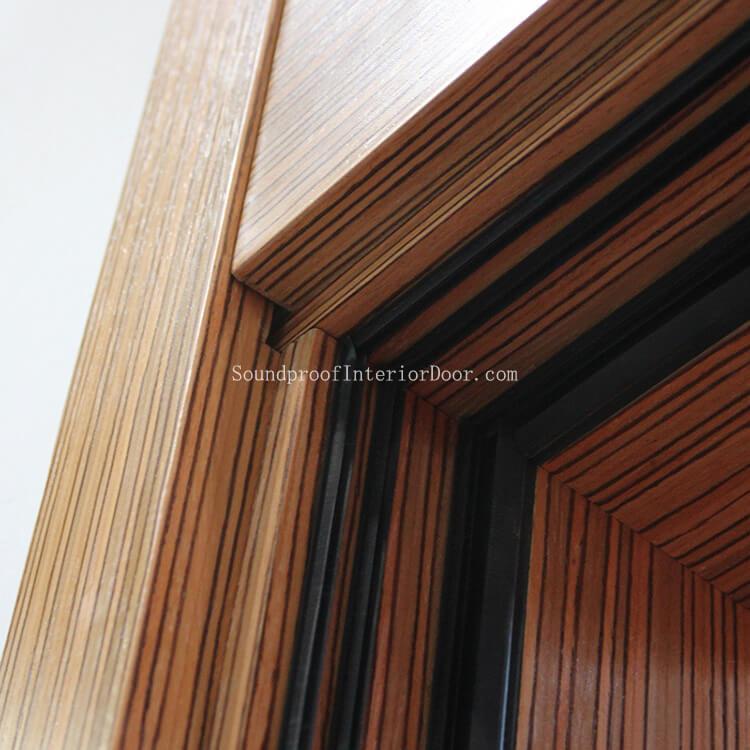 Soundproof Wood Door Solid Wood Door Soundproof Oak Internal Doors