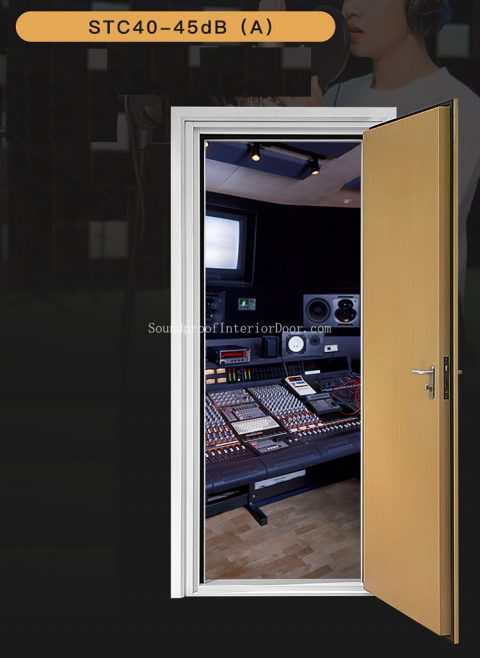 Soundproofing Studio Doors Acoustic Door Material Soundproofing Doors For Studio