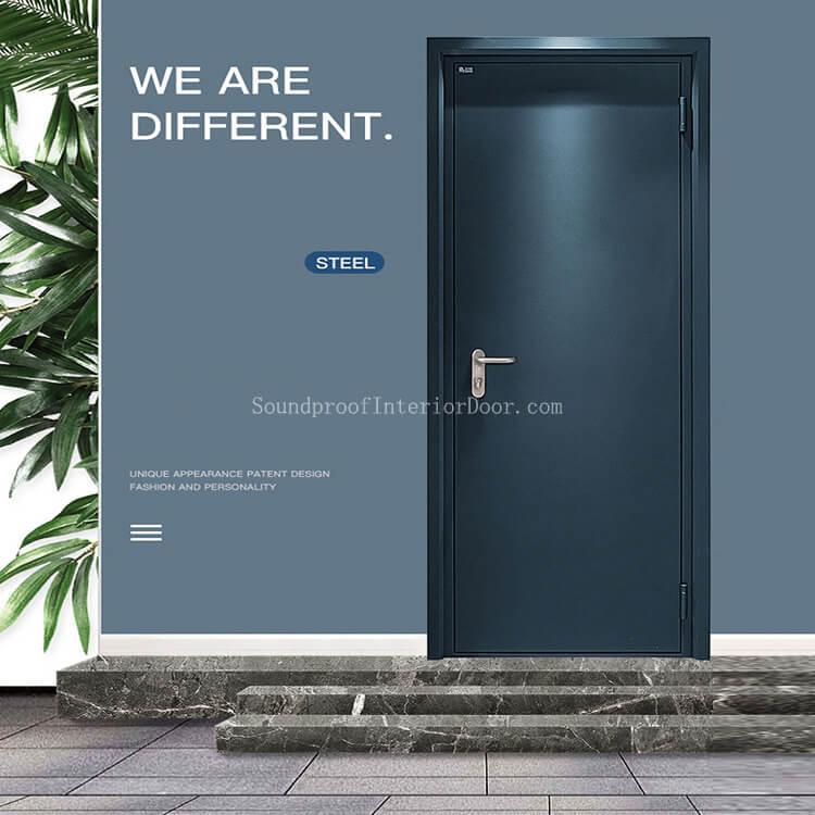 Steel Door Supplier Acoustic Door Desibel Industrial Steel Doors