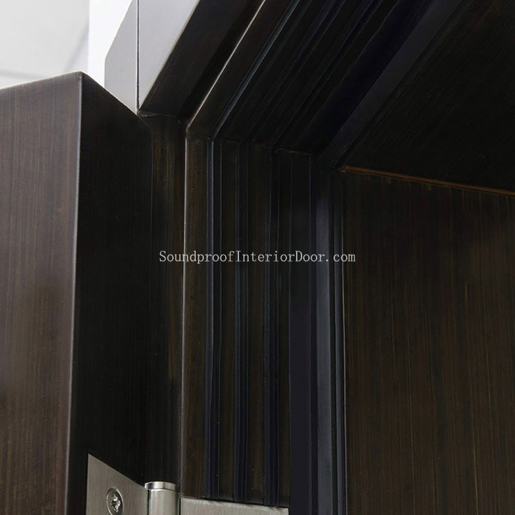 Wooden Soundproof Doors Internal Sound Proof Wood Doors Wooden Acoustic Door